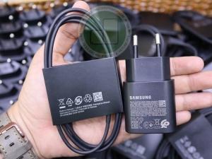 Bộ sạc ZIN Samsung 25W PD 3.0A chính hãng (cổng Type C)